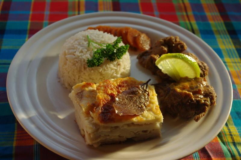 Menu Repas De Noel Antillais.Repas De Noel Antillais