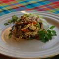 Une spécialité de traiteur guyanais. Le meilleur de la cuisine de la Réunion.